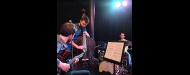 Petros Klampanis Trio - inventive jazz delivered in an exuberant mood at Vortex Jazz Club, London